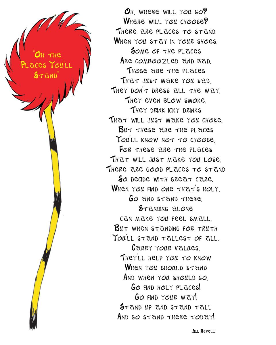Dr Seuss Quotes Poems Quotesgram