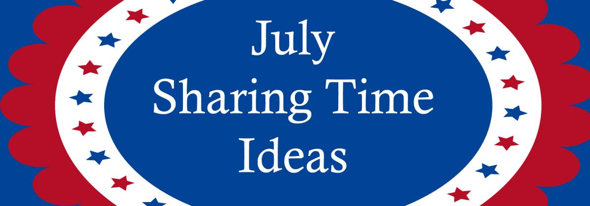 07 july 2017 sharing time ideas i choose the right by for Idea door primary sharing time